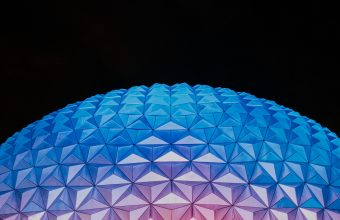 4K Ball Dome Relief Wallpaper 3840x2160 340x220