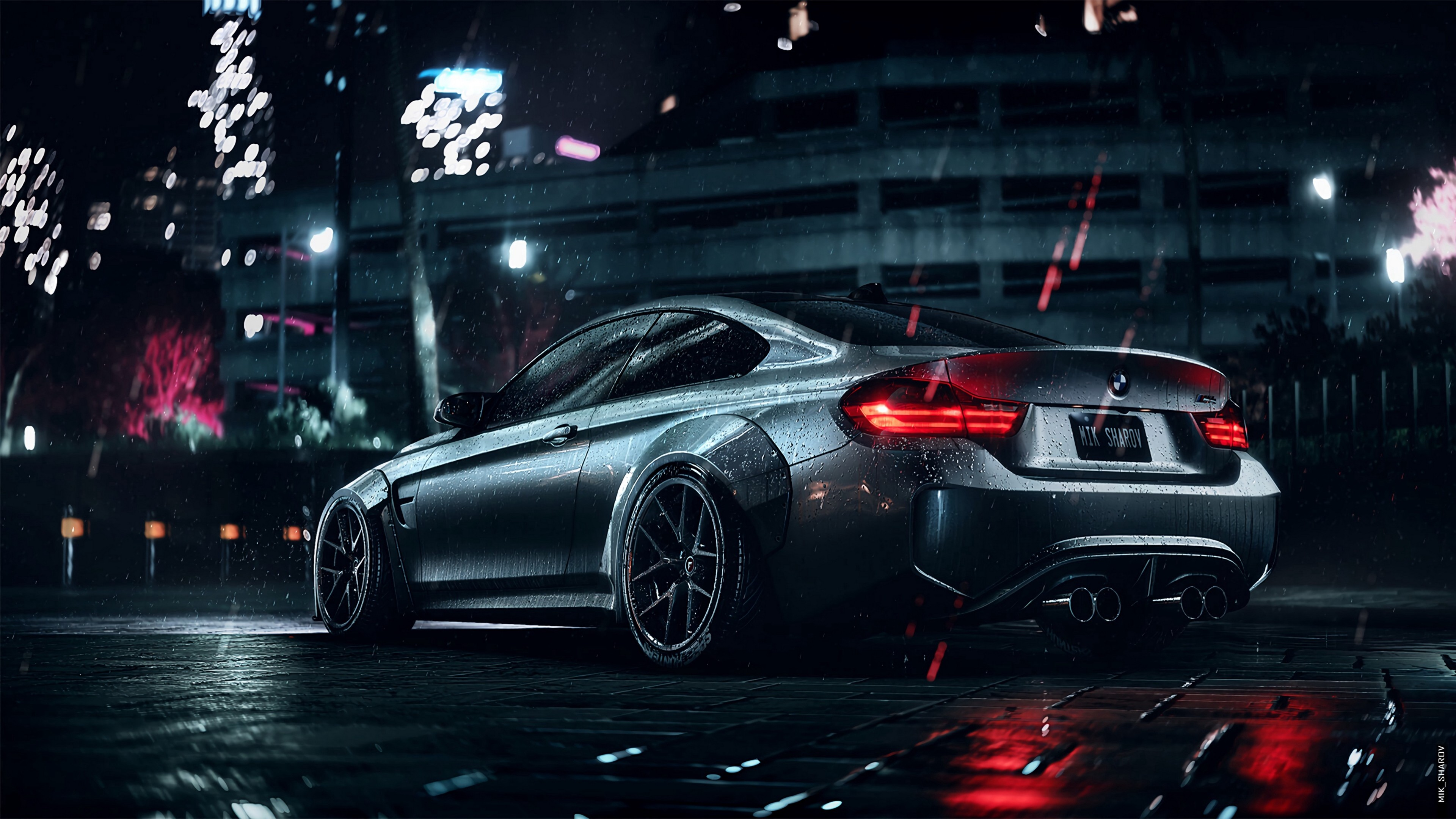 4k Bmw Car Sports Wallpaper 3840x2160
