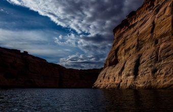 4K Canyon Lake Cliff Wallpaper 3840x2160 340x220
