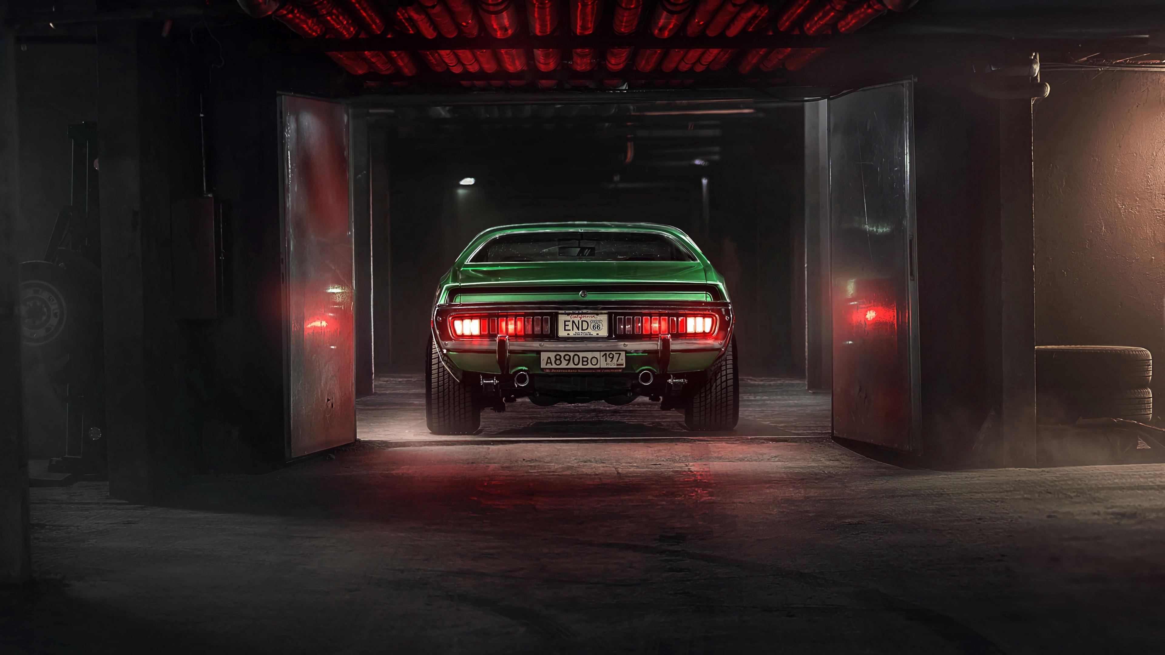 4k Car Garage Tuning Wallpaper 3840x2160