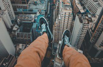 4K City Panorama Legs Wallpaper 3840x2160 340x220