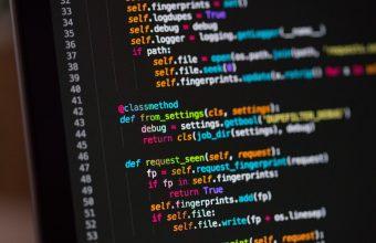 4K Code Programming Text Wallpaper 3840x2160 340x220