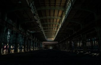 4K Corridor Room Dark Wallpaper 3840x2160 340x220