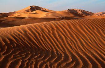 4K Desert Sand Dunes Wallpaper 3840x2160 340x220