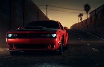 4K Dodge Srt Dodge Sportscar Wallpaper 3840x2160 340x220