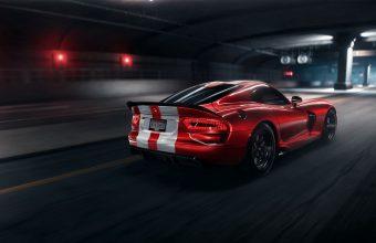 4K Dodge Viper Srt Dodge Sportscar Wallpaper 3840x2160 340x220