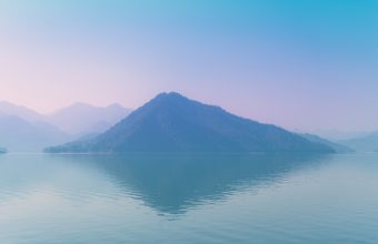4K Island Fog Sea Wallpaper 3840x2160 340x220