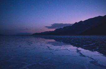 4K Lake Mountains Twilight Wallpaper 3840x2160 340x220