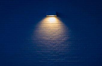 4K Lamp Wall Brick Wallpaper 3840x2160 340x220