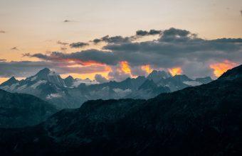 4K Mountains Clouds Landscape Wallpaper 3840x2160 340x220