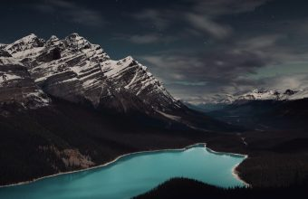 4K Mountains Lake Forest Wallpaper 3840x2160 340x220