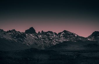 4K Mountains Landscape Twilight Wallpaper 3840x2160 340x220