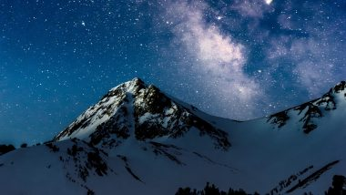 4k Mountains Night Starry Sky Wallpaper 3840x2160