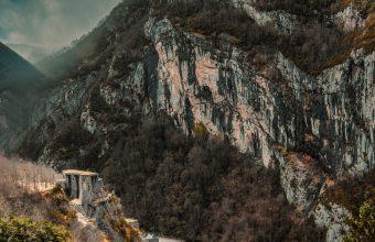 4K Mountains Road Peaks Wallpaper 3840x2160 340x220
