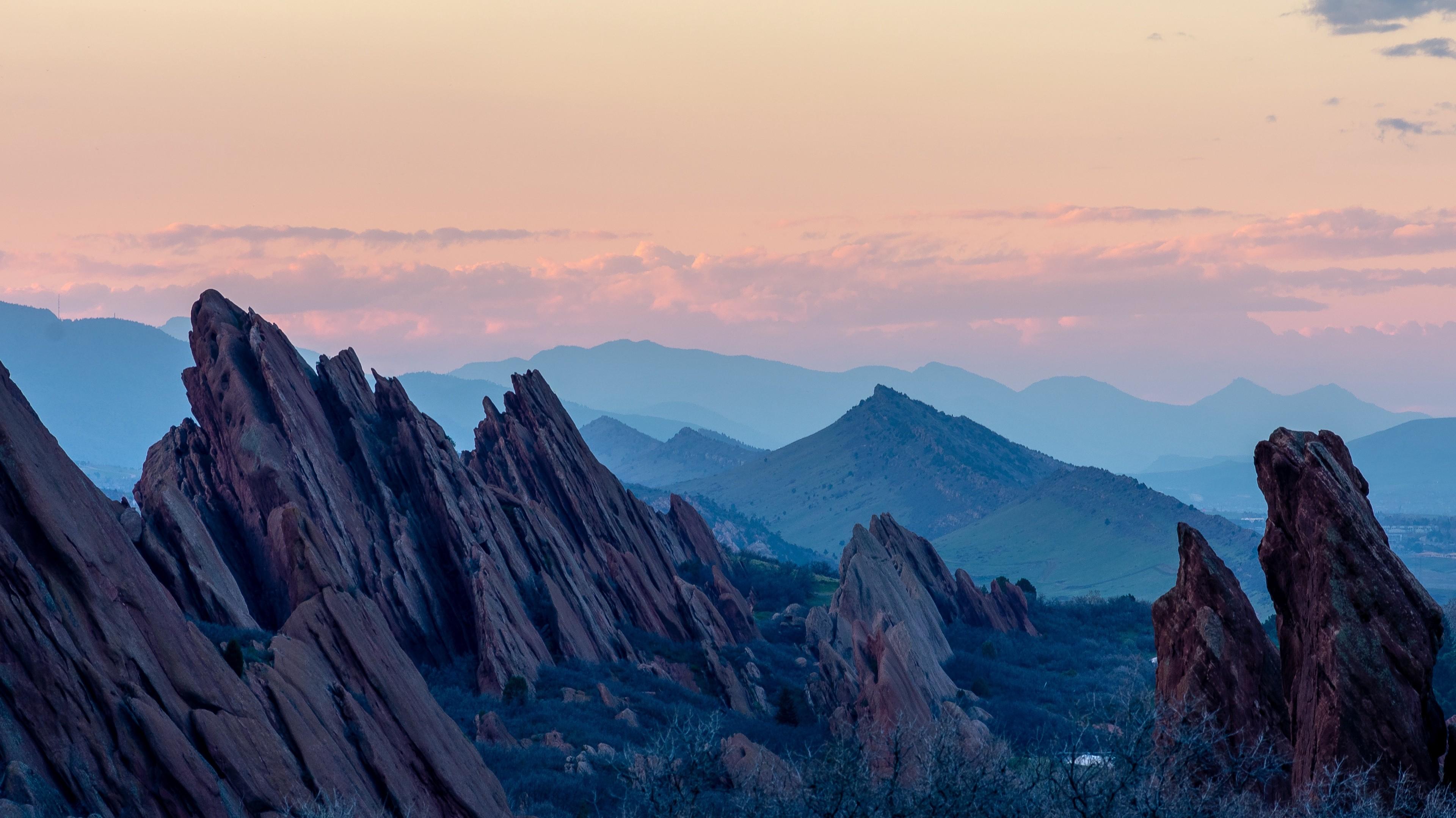 4k Mountains Rocks Landscape Wallpaper 3840x2160