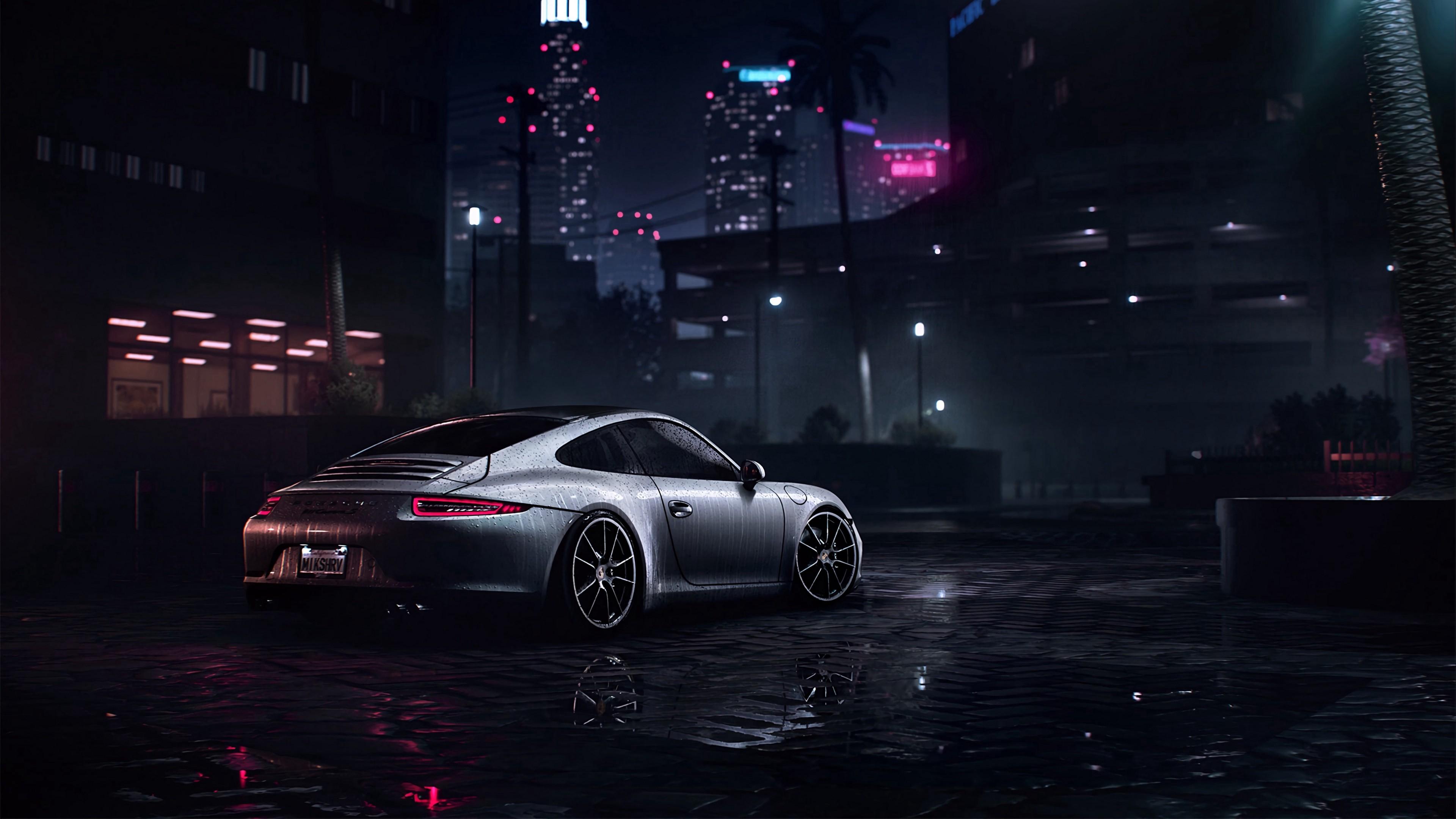 4K Porsche 911 Carrera S Porsche Sportscar Wallpaper ...