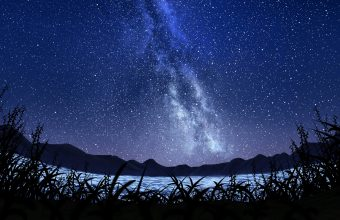 4K Stars Starry Sky Milky Way Wallpaper 3840x2160 340x220