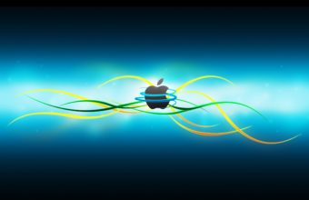 Abstract Apple Logo Wallpaper 2560x1600 340x220