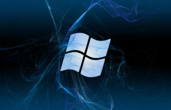 Abstract Blue Textures Microsoft Windows Logos Wallpaper 1920x1080 340x220