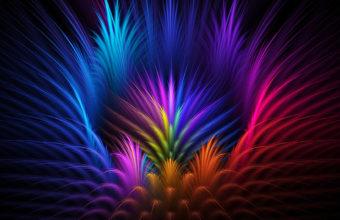 Abstract Colors 4K Wallpaper 3840x2160 340x220