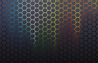 Abstract Patterns Hexagons Textures Wallpaper 1920x1080 340x220