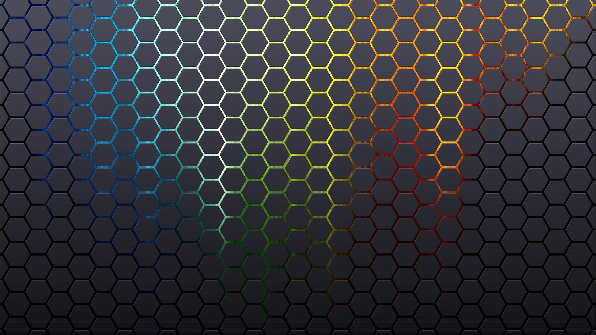 Abstract Patterns Hexagons Textures Wallpaper 1920x1080
