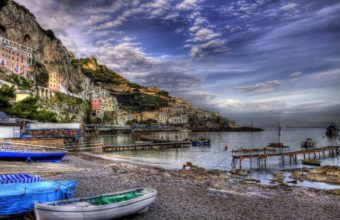 Amalfi Italy Wallpaper 2560x1600 340x220
