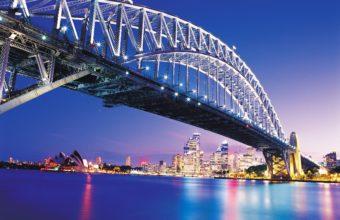 Amazing Sydney Bridge Wallpaper 2560x1920 340x220