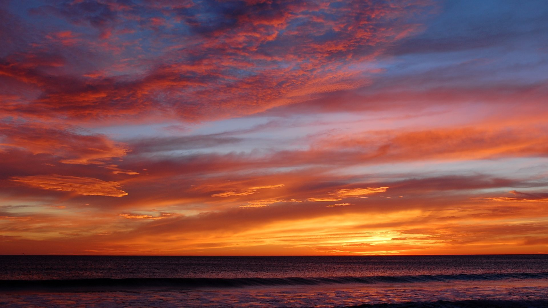 another sunset wallpaper [1920x1080]