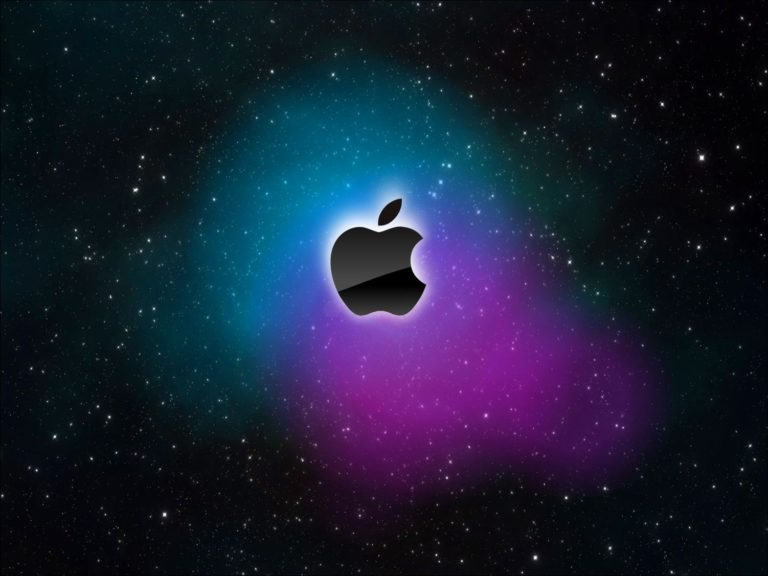 Apple Black Logo Colors Wallpaper 1502x1127 768x576