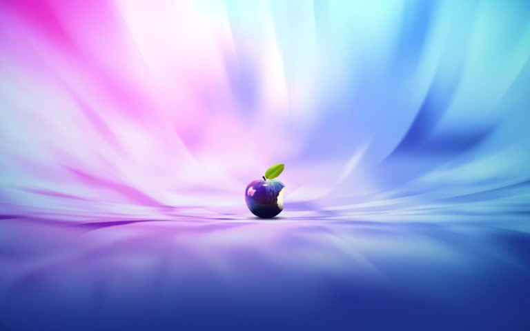 Apple In Colors Wallpaper 2560x1600 768x480