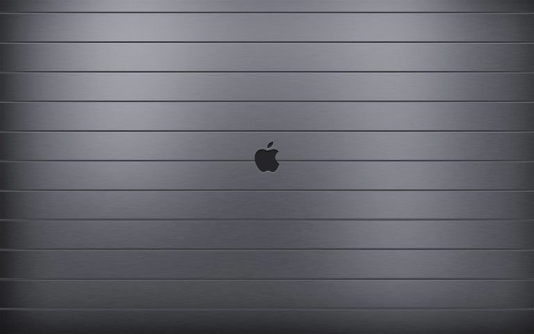 Apple Logo Dark Wallpaper 1920x1200 768x480