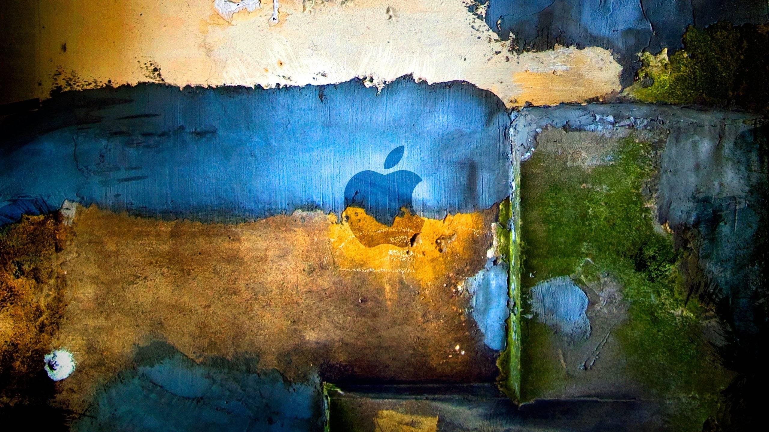 Apple Logo Paint Wallpaper 2560x1440 340x220