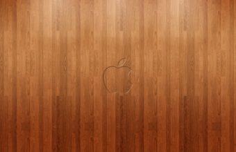 Apple Logo Wood Wallpaper 1920x1200 340x220