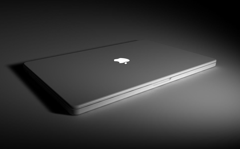 Apple Macbook Dark Wallpaper 1440x900