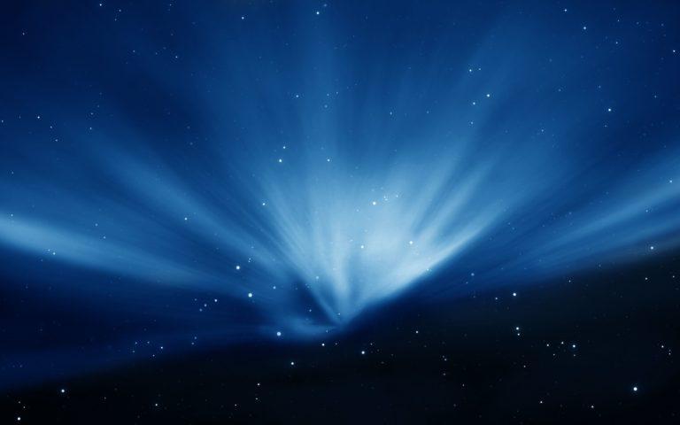 Apple Macbook Galaxy Blue Wallpaper 2560x1600 768x480