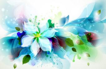Artistic Flower 4K Wallpaper 3840x2160 340x220