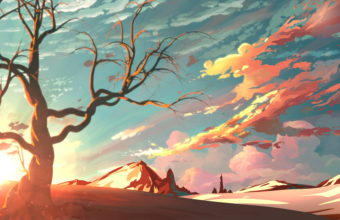 Artistic Landscape 4K Wallpaper 3840x2160 340x220
