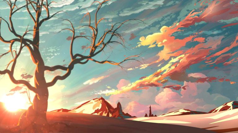 Artistic Landscape 4K Wallpaper 3840x2160 768x432
