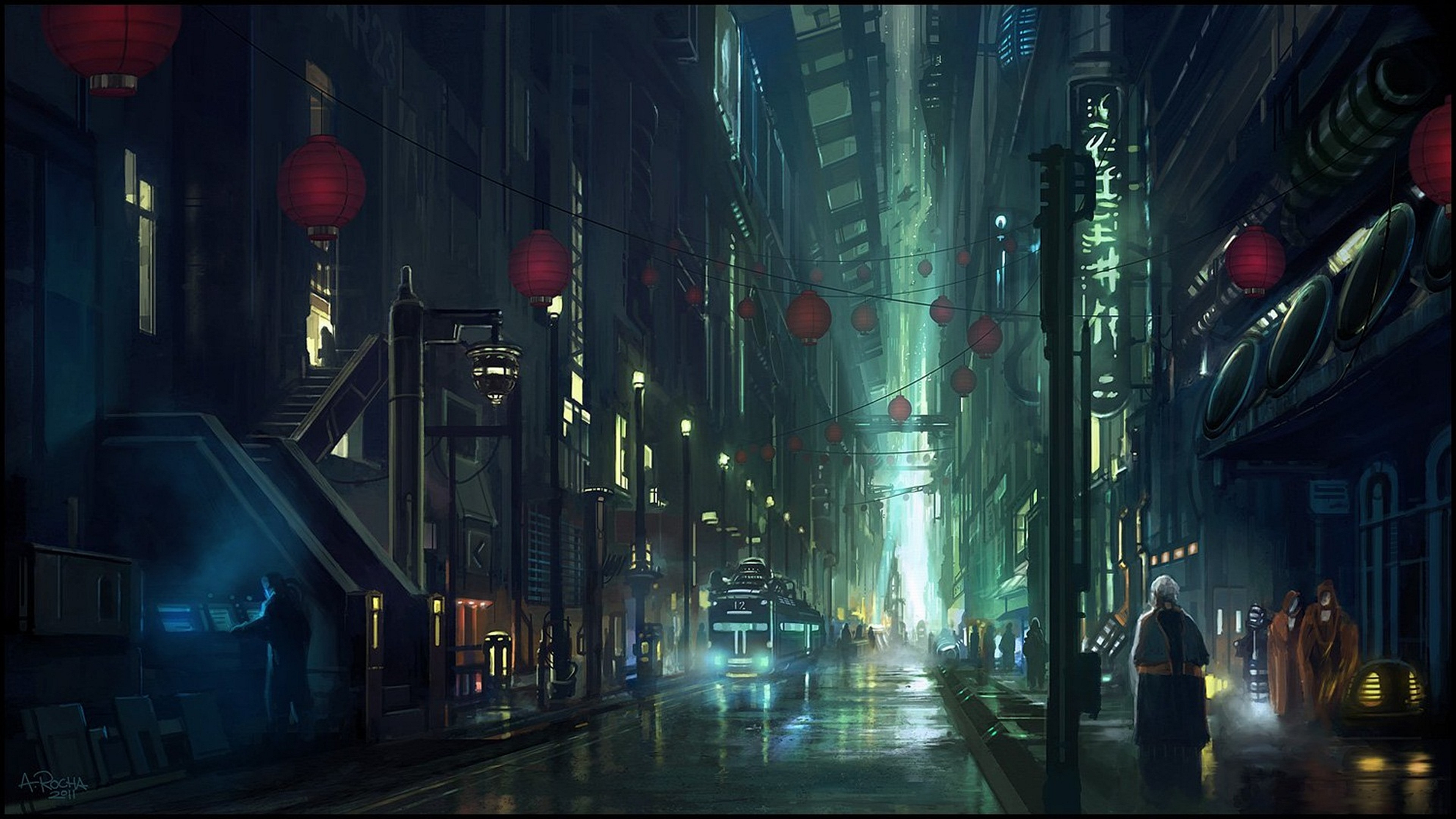 Artistic Night 4K Wallpaper 3840x2160 340x220