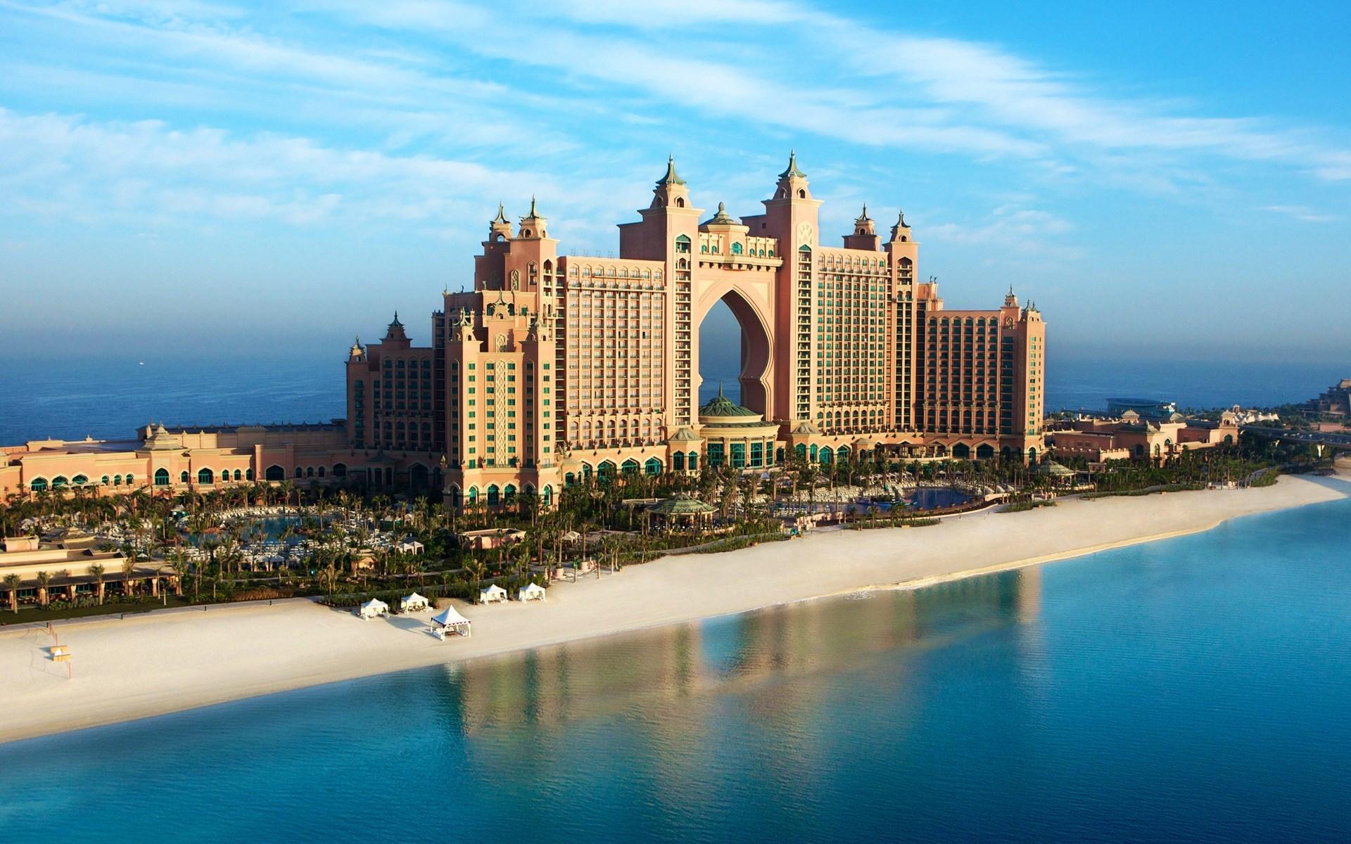 Atlantis The Palm Beach Dubai Wallpaper 1920x1200 768x480
