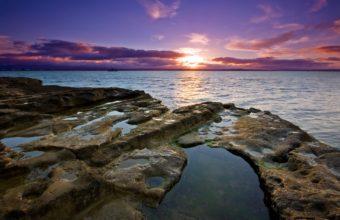 Auckland Sunset 340x220
