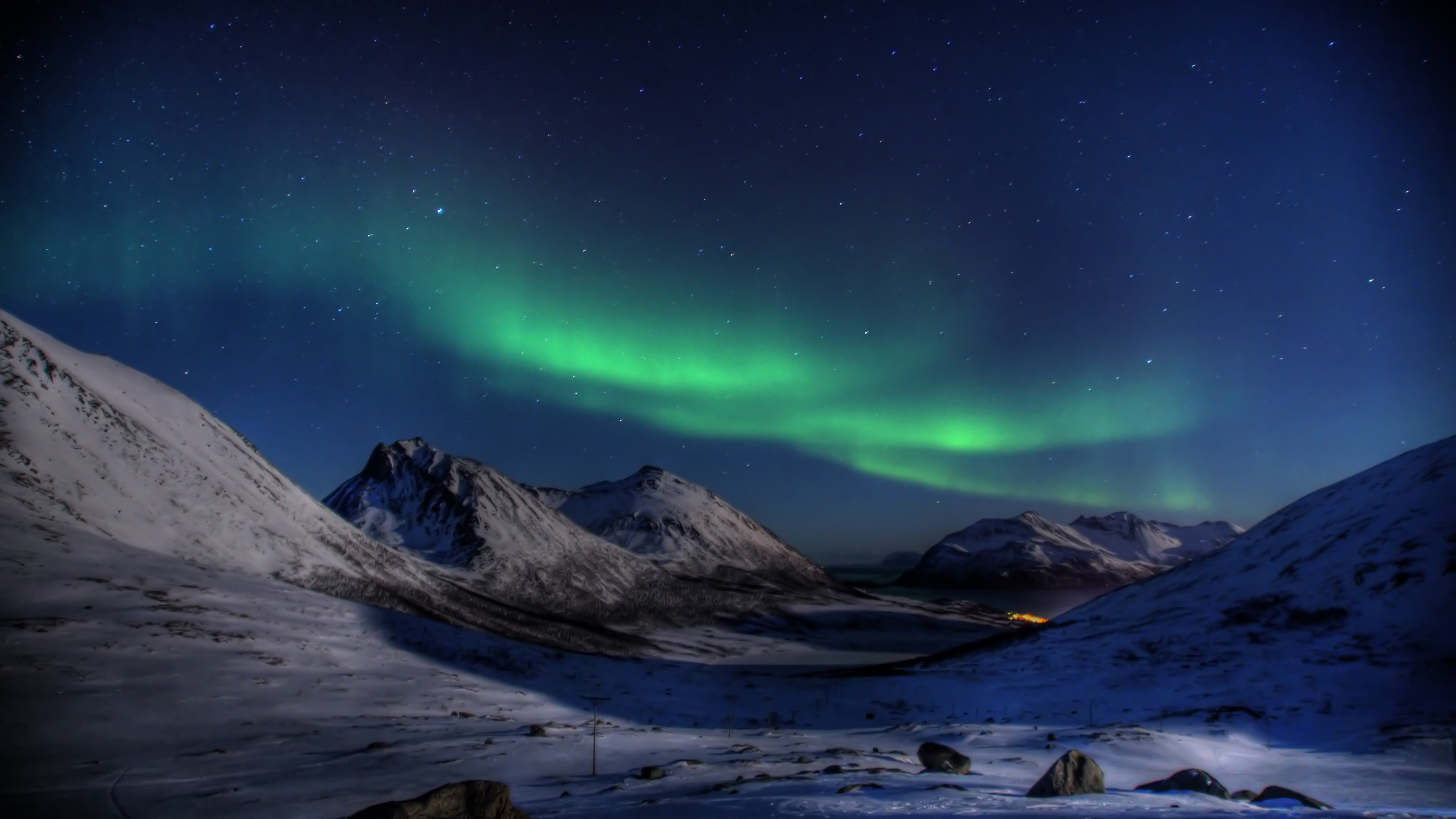 4k Hd Wallpapers 3840 2160: Aurora Borealis 4K Wallpaper [3840x2160]
