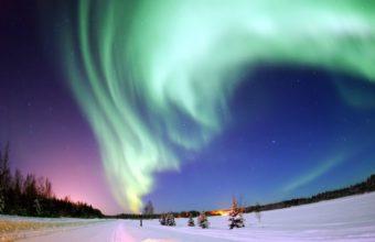 Aurora Borealis Wallpaper 2560x1600 340x220