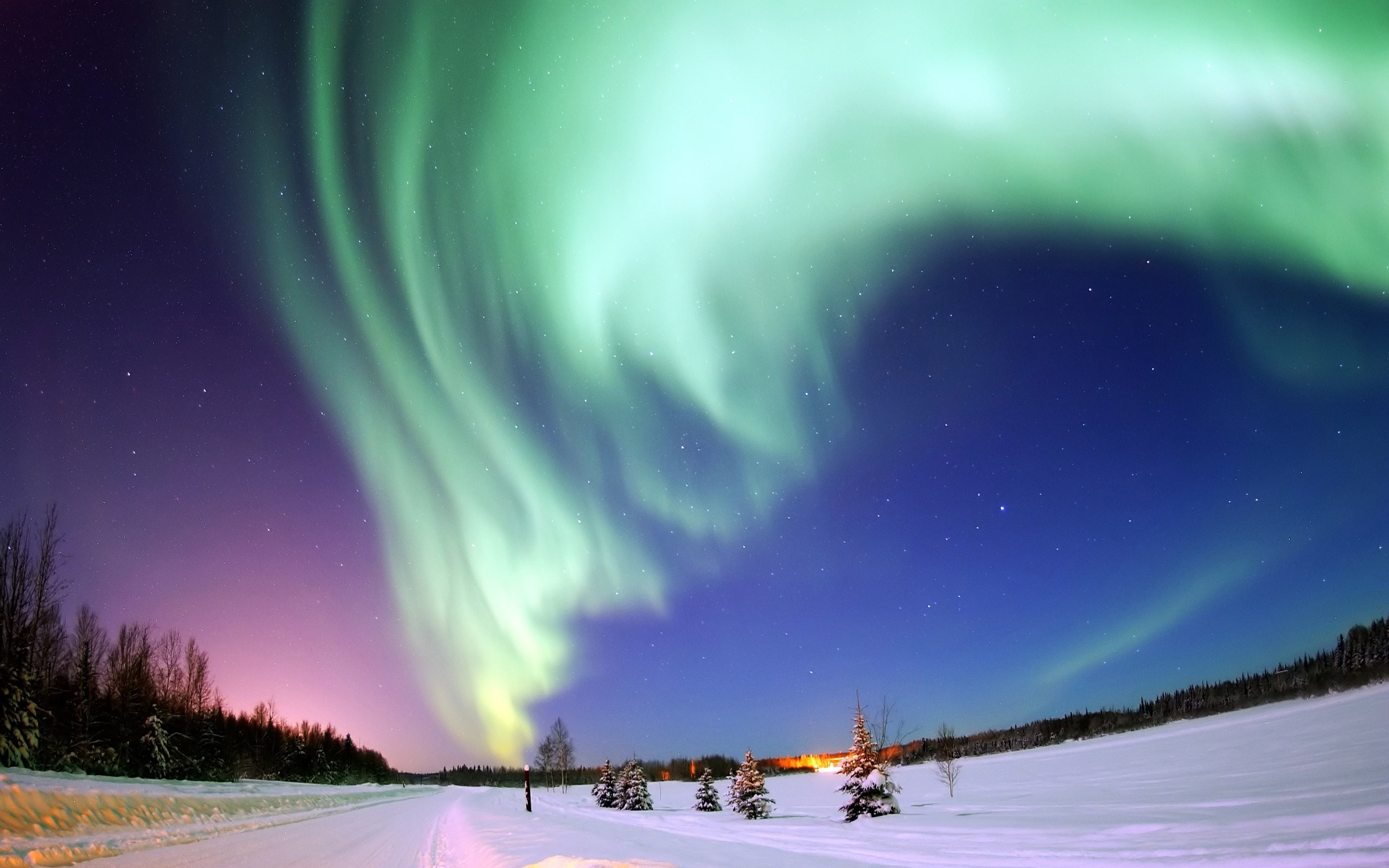 aurora borealis wallpaper [2560x1600]