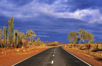Australia Desert Road Wallpaper 1920x1200 340x220