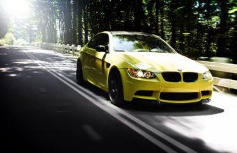 Auto Bmw M3 Yellow 340x220