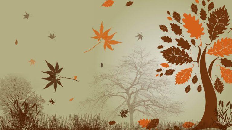 Autumn Abstract Wallpaper 1920x1080 768x432