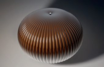 Ball Form Brown Wallpaper 340x220