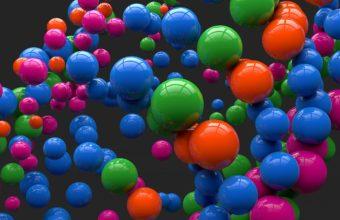 Balloon Colorful Flight Wallpaper 340x220